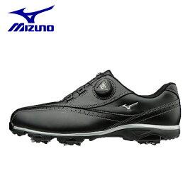 ミズノ MIZUNO ) ゴルフシューズ ソフトスパイク メンズ ワイドスタイル002ボア EEEE 51GQ1740