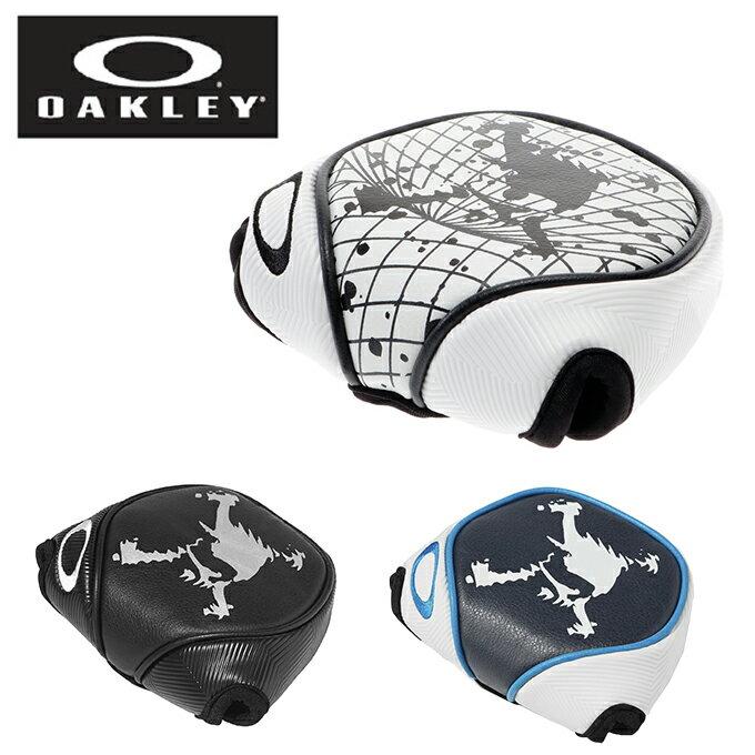 オークリー OAKLEY ゴルフ ヘッドカバー メンズ SKULL M PUTTER 11.0 921102JP