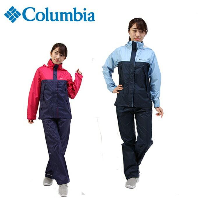 コロンビア Columbia レインジャケット レディース シンプソンサンクチュアリーレインスーツ PL0125