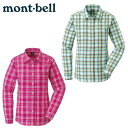 モンベル アウトドア 長袖シャツ レディース WIC.ライト シングルポケット ロングスリーブシャツ 1114281 mont bell m…