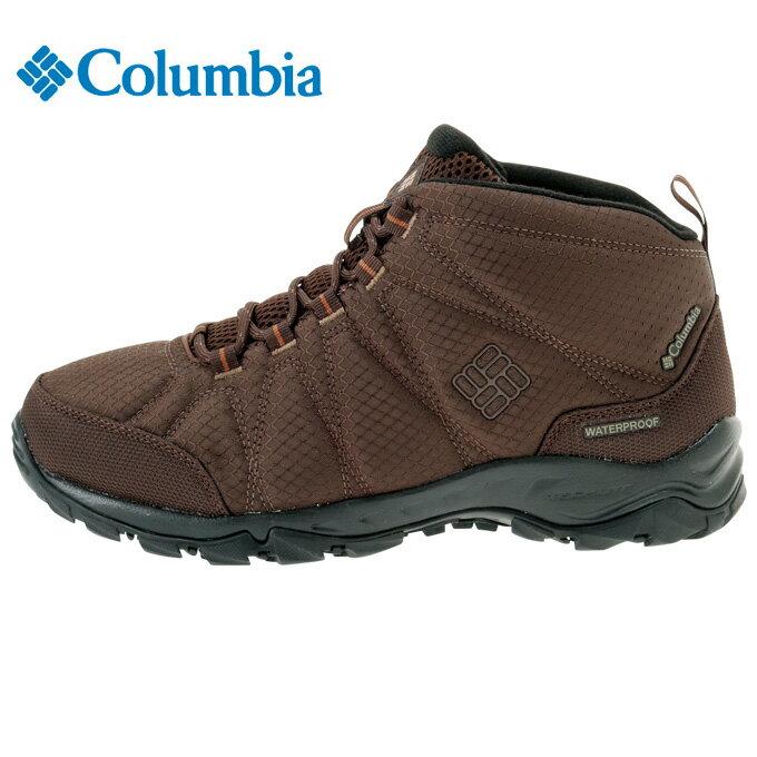コロンビア Columbia トレッキングシューズ メンズ ファイアーキャンプ2ミッド ワイド BI1712 232