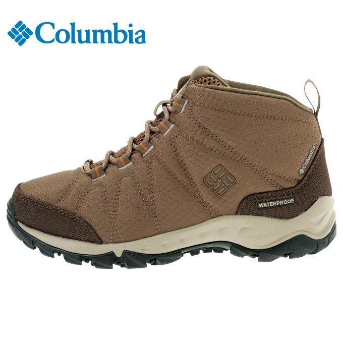 コロンビア Columbia トレッキングシューズ レディース ファイアーキャンプ2ミッド ワイド BK1712 269