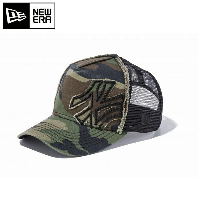 ニューエラ NEW ERA ウィンター アクセサリー 帽子 キャップ 9FORTY D-Frame Trucker Battalion ニューヨーク・ヤンキース 11120284