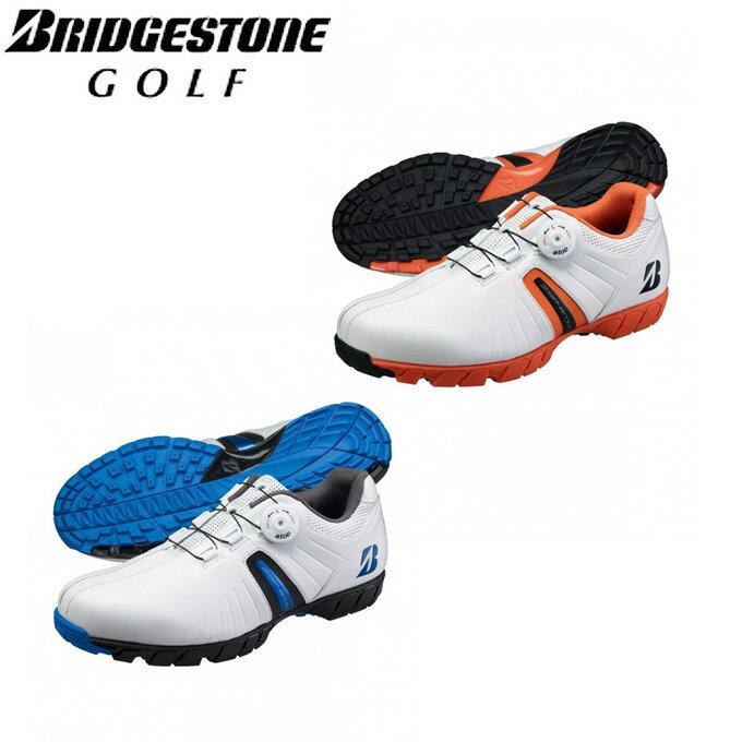 ブリヂストンゴルフ BRIDGESTONE GOLF ゴルフシューズ スパイクレス メンズ ゼロ スパイク バイター SHG750