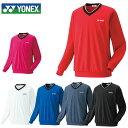ヨネックス YONEX テニスウェア メンズ レディース スウェット Vネックスウェット 32019