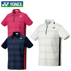 ヨネックス テニスウェア バドミントンウェア ゲームシャツ メンズ レディース フィットスタイル ポロシャツ 10208 YONEX 日本バドミントン協会審査合格品