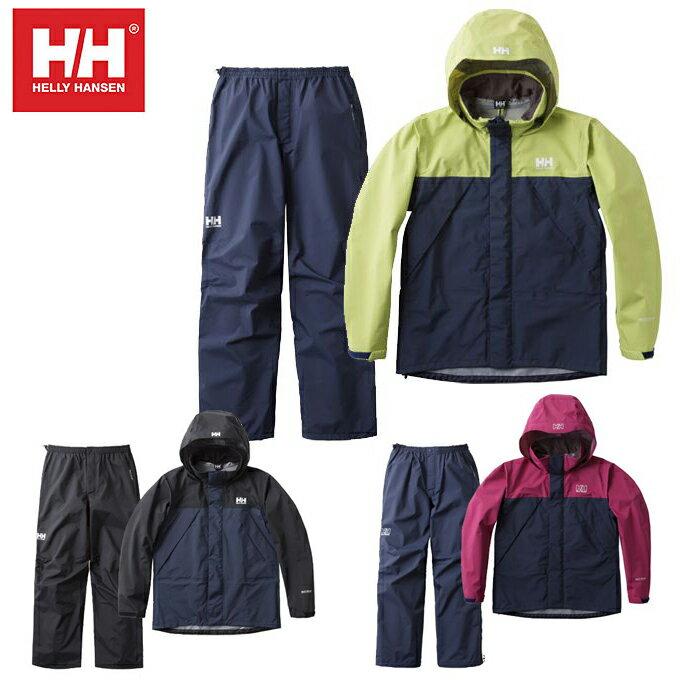 ヘリーハンセン HELLY HANSEN レインウェア上下セット メンズ レディース ヘリーレインスーツ HOE11701