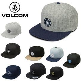 ボルコム VOLCOM キャップ 帽子 メンズ レディース QUARTER TWILL HAT D5511561