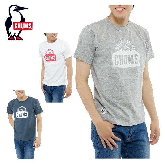 チャムス ( CHUMS ) アウトドア Tシャツ 半袖 メンズ マウンテンロゴ SS T CH01-1313