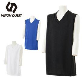 サッカーウェア 機能インナー ノースリーブ ジュニア インナーシャツ VQ540416G01 ビジョンクエスト VISION QUEST