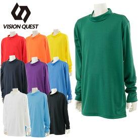 ビジョンクエスト VISION QUEST サッカーウェア 機能 長袖 ジュニア 17FWハイネックインナーシャツLS VQ540416G07