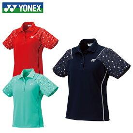 ヨネックス テニスウェア バドミントンウェア ゲームシャツ レディース ゲームポロシャツ 20381 YONEX 日本バドミントン協会審査合格品