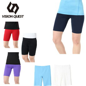 バスケットボール インナー レディース バスケウェア Lスパッツ VQ570406G08 ビジョンクエスト VISION QUEST