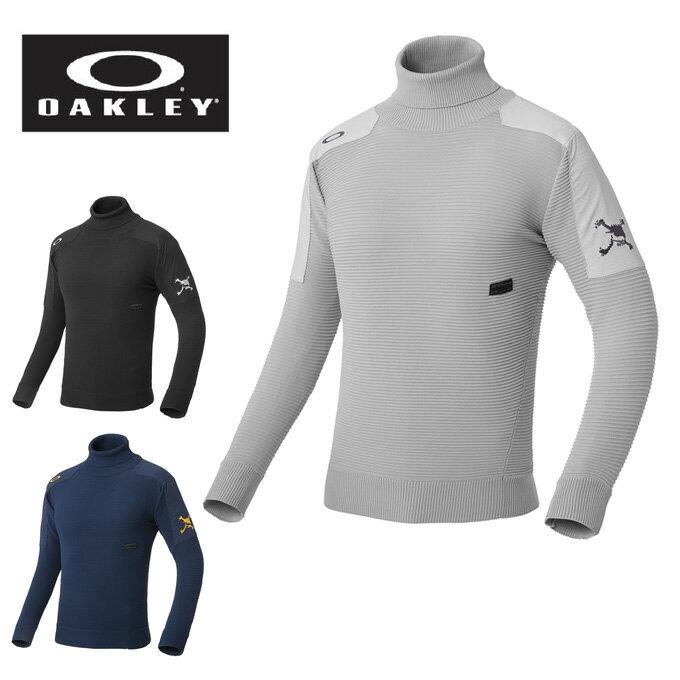 オークリー OAKLEY ゴルフウェア セーター メンズ SKULL ERGONOMIC TURTLE SWEATER 461605JP