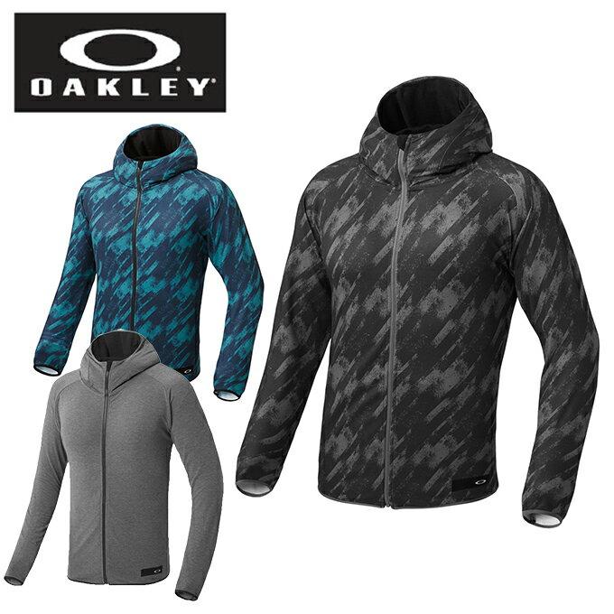 オークリー OAKLEY フリース メンズ 総柄フードニットジャケット 434072JP
