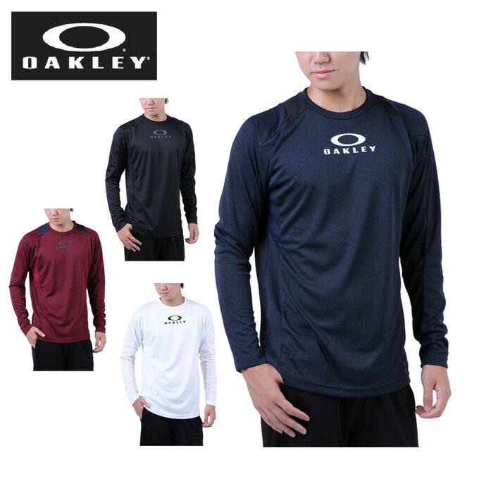 オークリー OAKLEY 機能Tシャツ 長袖 メンズ ENHANCE LS CREW 7.3.02 434066JP