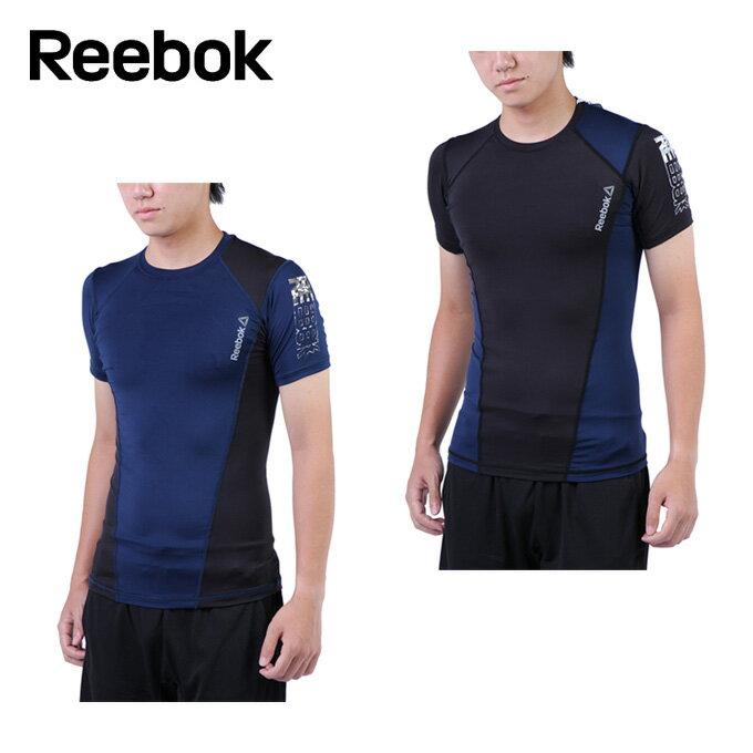 リーボック Reebok 機能インナー 半袖 メンズ ワンシリーズ LT Comp ショートスリーブ ティシャツ DRJ57