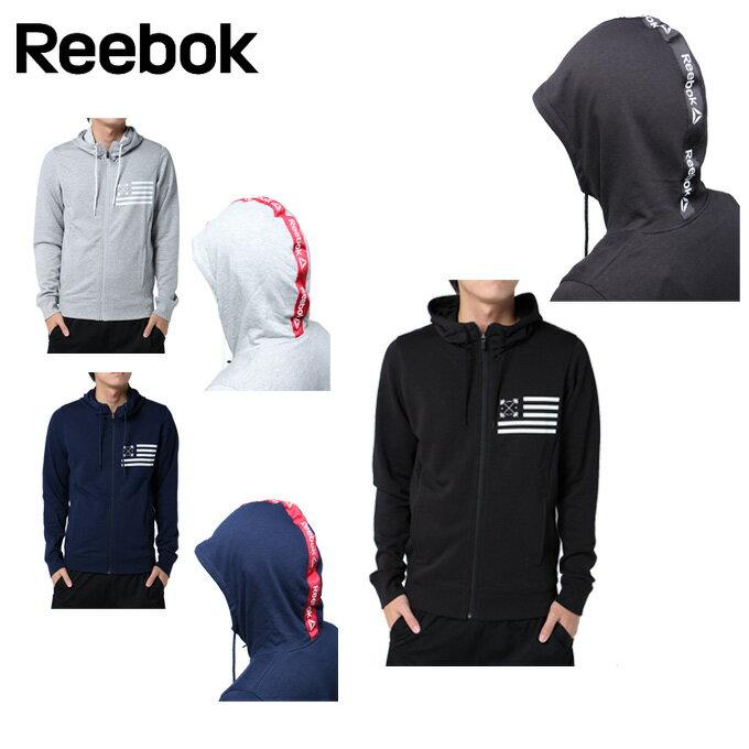 リーボック Reebok ジャケット メンズ ワンシリーズ テープロゴスウェット フルジップパーカー DRJ51