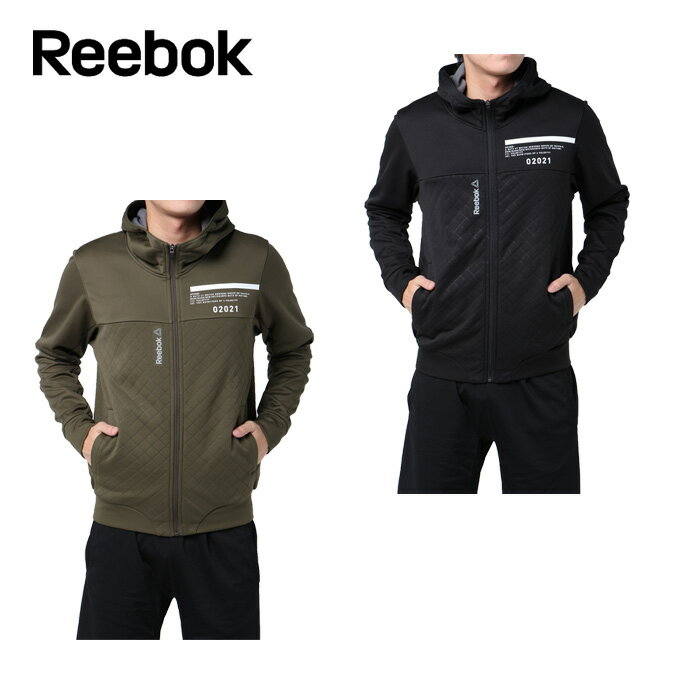 リーボック Reebok ジャケット メンズ ワンシリーズ ウルトラソニックフリース フルジップパーカー DRJ45