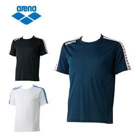 アリーナ arena Tシャツ メンズ レディース チームラインTシャツ ARN-6331