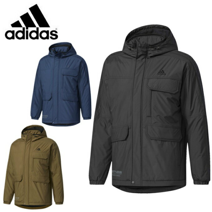 アディダス ウインドブレーカー ジャケット メンズ M 24/7 中綿ウインドブレーカージャケット DUQ95 adidas