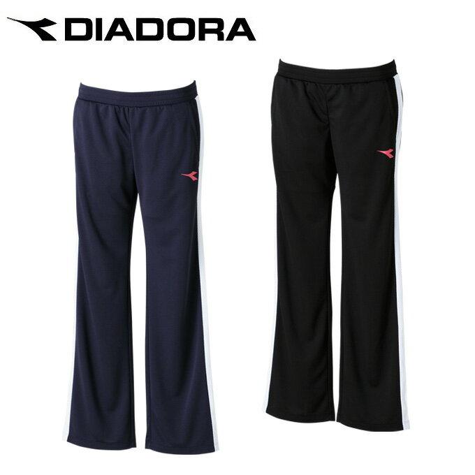 ディアドラ テニスウェア ウインドブレーカー レディース 薄手トレーニングパンツ DTL7292 DIADORA バドミントンウェア