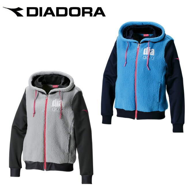 ディアドラ DIADORA テニスウェア レディース もこもこジャケット DTL7191