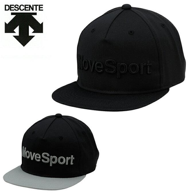 デサント DESCENTE キャップ 帽子 フラットバイザーキャップ DAC-8751