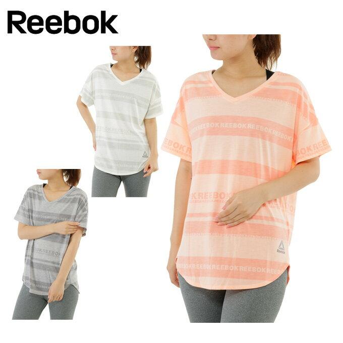 リーボック Reebok Tシャツ 半袖 レディース ヨガ Tee for tights ベーシック DRJ62