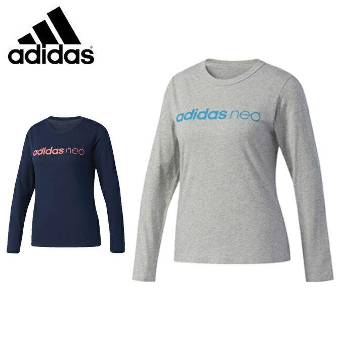 アディダス Tシャツ 長袖 レディース BC ロングスリーブTシャツ W DUQ23 adidas