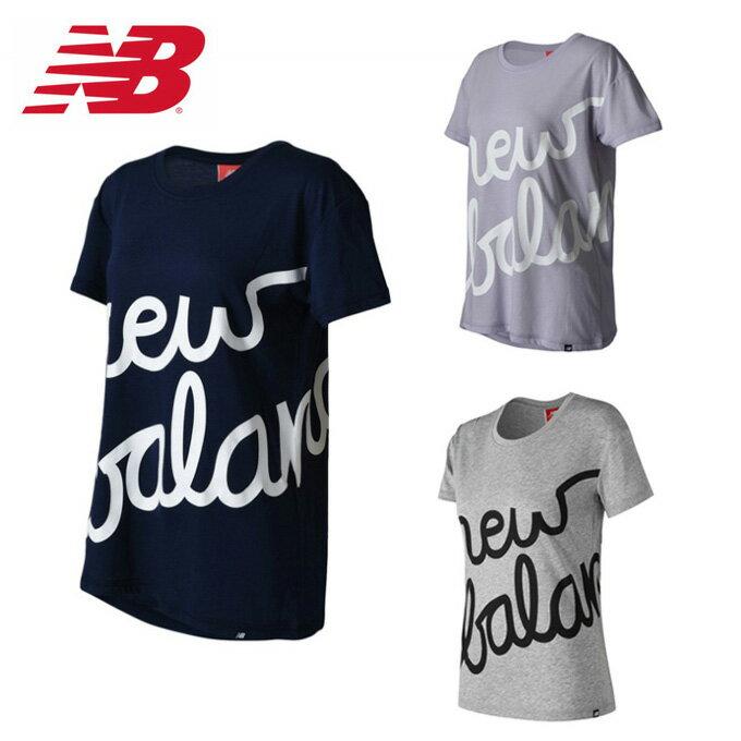 ニューバランス new balance Tシャツ 半袖 レディース NBスクリプトT AWT73505