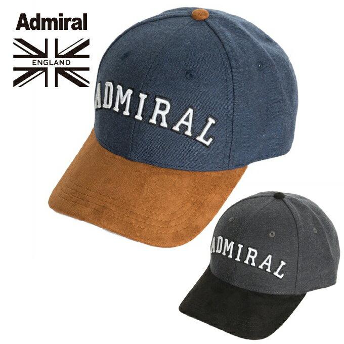 アドミラル Admiral キャップ メンズ デニム&PUキャップ ADMB732F