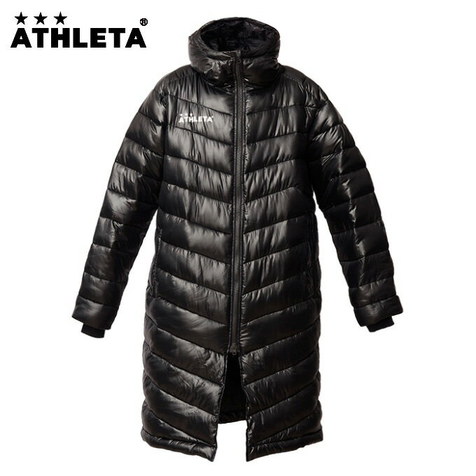 アスレタ ATHLETA サッカーウェア ダウンコート ベンチコート 04114