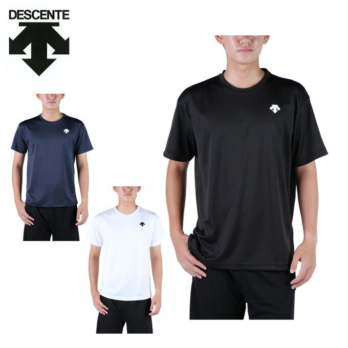 デサント DESCENTE Tシャツ 半袖 メンズ ワンポイント機能Tシャツ DOR-C8406