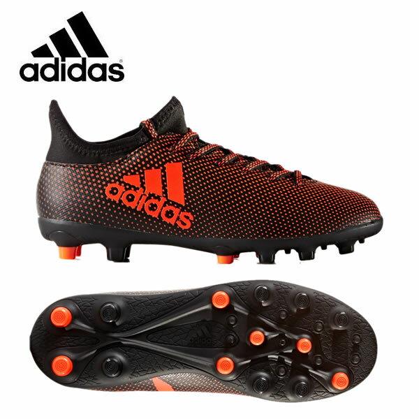 アディダス adidas サッカースパイク ジュニア エックス 17.3-ジャパン HG J S82377 CCY20