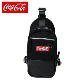 コカ・コーラ Coca-Cola ショルダーバッグ スウェットボディバック COK-BY01-BK
