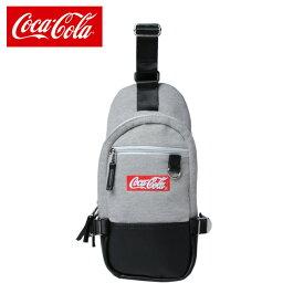 コカ・コーラ Coca-Cola ショルダーバッグ スウェットボディバック COK-BY01-GY