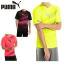 プーマ PUMA サッカーウェア プラクティスシャツ 半袖 メンズ EVOTRG グラフィック TEE 655499