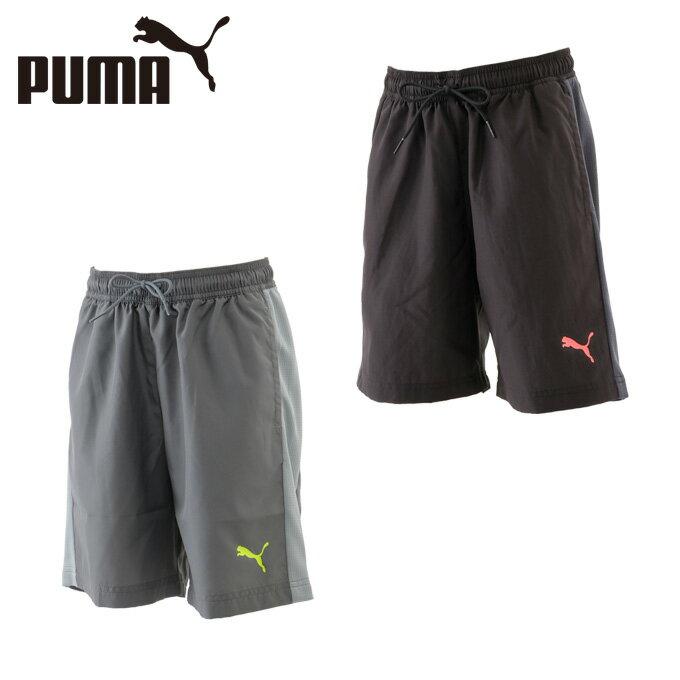 プーマ PUMA サッカーウェア パンツ ジュニア EVOTRG ウーブンショーツ 655497