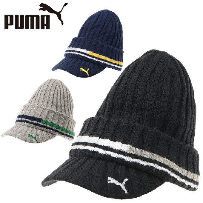 プーマ PUMA ゴルフ ニット帽 メンズ ゴルフ ブリムビーニー 866438