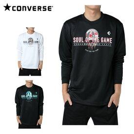 コンバース CONVERSE バスケットボール メンズ 長袖プリントTシャツ CBD272324L