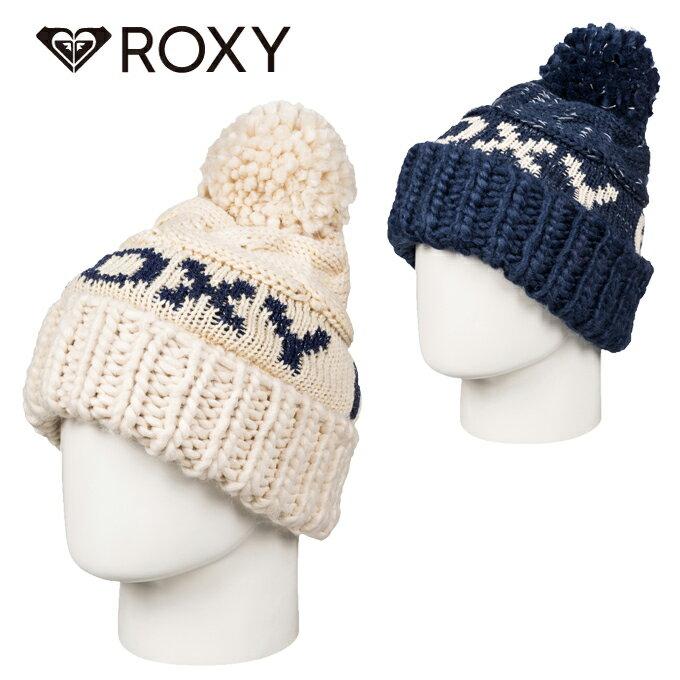 ロキシー ROXY ニット帽 レディース フリース裏地ロゴビーニー ERJHA03289