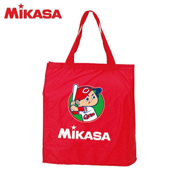 【エントリーかつ店頭受取でポイント3倍】ミカサ MIKASA 野球 トートバッグ Mikasa×カープレジャーバッグ カープ坊やバージョン BA21CA-RB