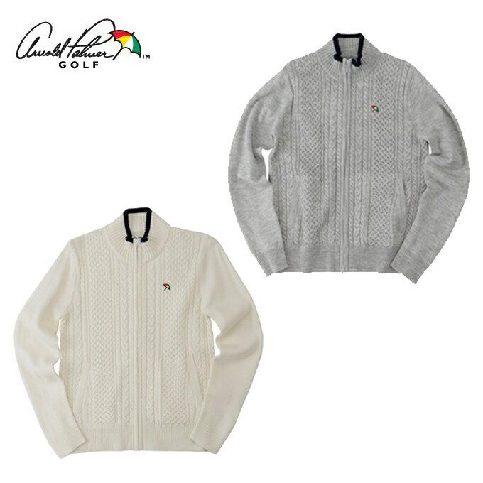 アーノルドパーマー arnold palmer ゴルフウェア レディース ケーブルFZセーター AP220404G01