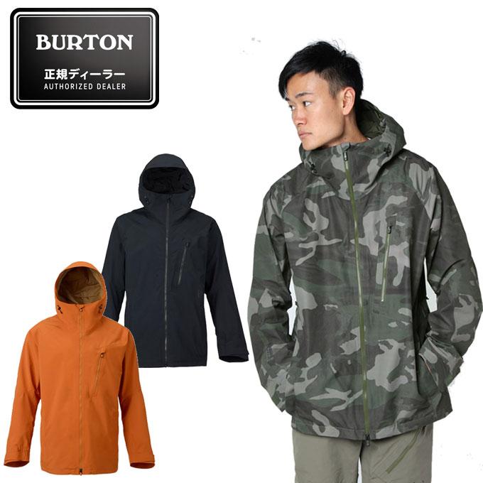 バートン BURTON スノーボードウェア Men's GORE-TEX 2L Cyclic Jacket メンズ ツーエル サイクル ジャケット 100021