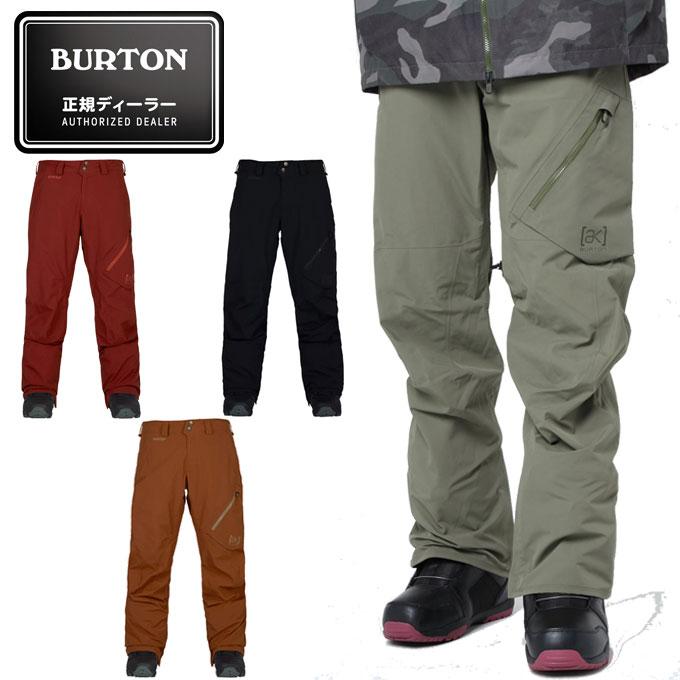 バートン BURTON スノーボードウェア メンズ [ak]Gore-Tex 2L Cyclic Pant ゴア-テックス 2エル サイクリンク パンツ 10000104