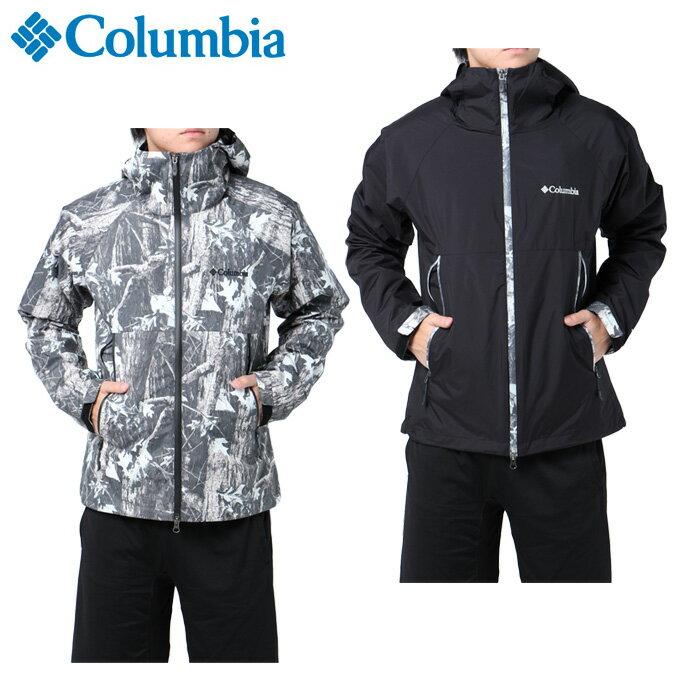 コロンビア Columbia アウトドア ジャケット メンズ デクルーズサミットHパターンド JK PM3169