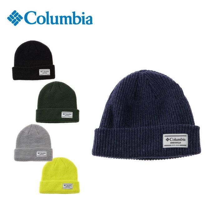 コロンビア Columbia ニット帽 メンズ レディース Split Range Knit Cap スプリット レンジニット キャップ PU5302
