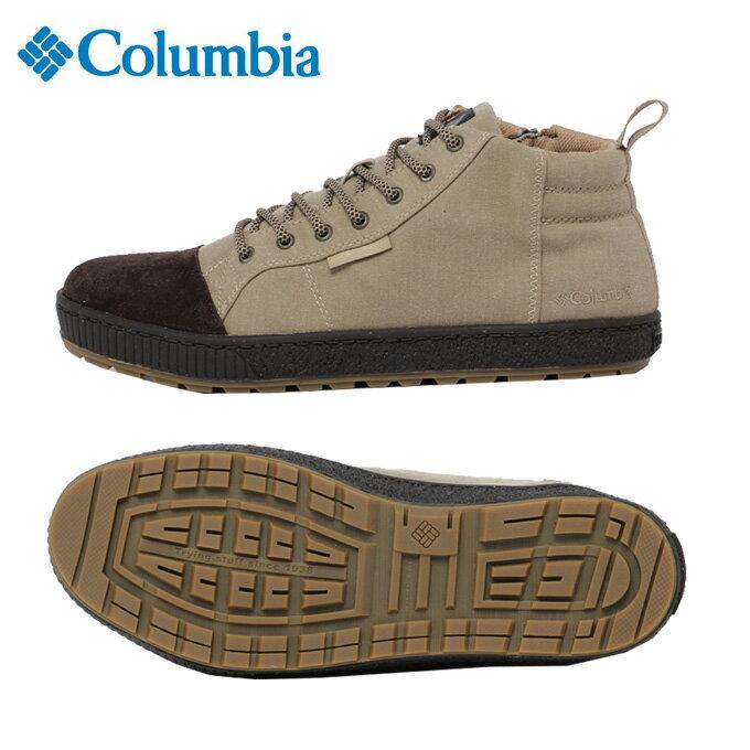 コロンビア Columbia カジュアルシューズ メンズ ウッドリッジミッドオムニテック YU3907 257