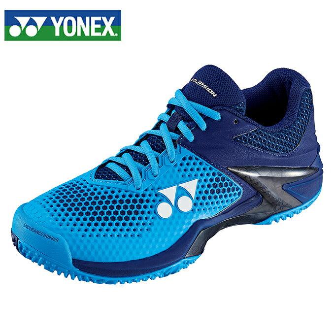 ヨネックス YONEX テニスシューズ オムニクレーコート用 メンズ パワークッションエクリプション2 M GC SHTE2MGC-524